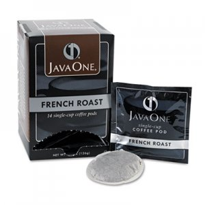 Java One Coffee Pods, French Roast, Single Cup, 14/Box JAV30800 39830806141