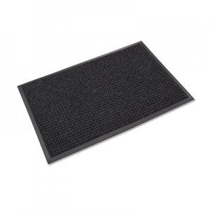 Crown Super-Soaker Wiper Mat w/Gripper Bottom, Polypropylene, 34 x 119, Charcoal CWNSSR310CH SS R310CH