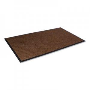 Crown Super-Soaker Wiper Mat with Gripper Bottom, Polypropylene, 36 x 60, Dark Brown CWNSSR035DB SS R035DB