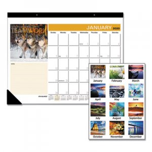 At-A-Glance Successories Motivational Desk Pad, 22 x 17, 2020 AAGSKW80000 SKW800-00