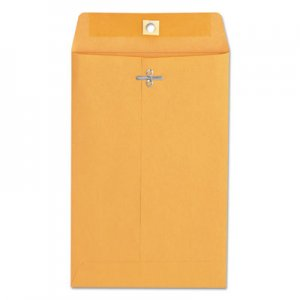 Genpak Kraft Clasp Envelope, #55, Square, Clasp/Gummed Closure, 6 x 9, Brown Kraft, 100/Box UNV35260