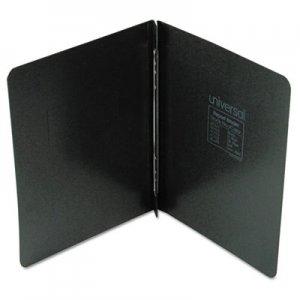 "Genpak Pressboard Report Cover, Prong Clip, Letter, 3"" Capacity, Black UNV80571"
