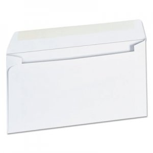 Genpak Business Envelope, #6 3/4, 3 5/8 x 6 1/2, White, 500/Box UNV35206