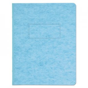 "Genpak Pressboard Report Cover, Prong Clip, Letter, 3"" Capacity, Light Blue UNV80572"