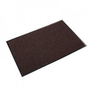 Crown Needle Rib Wipe and Scrape Mat, Polypropylene, 36 x 60, Brown CWNNR0035BR NR 0035BR