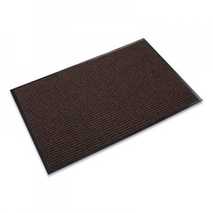 Crown Needle Rib Wipe & Scrape Mat, Polypropylene, 48 x 72, Brown CWNNR0046BR NR0046BR