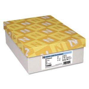 Neenah Paper Classic Crest #10 Envelope, 4 1/8 x 9 1/2, Solar White, 500/Box NEE1744000 1744000