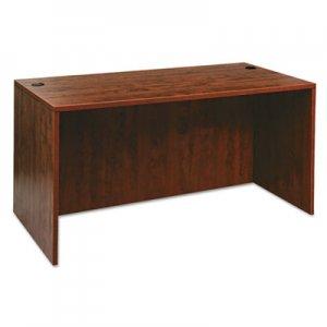 Alera Valencia Series Straight Desk Shell, 59 1/8 x 29 1/2 x 29 5/8, Med Cherry ALEVA216030MC