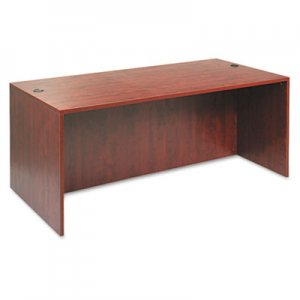Alera Valencia Series Straight Desk Shell, 71w x 35 1/2d x 29 5/8h, Med Cherry ALEVA217236MC