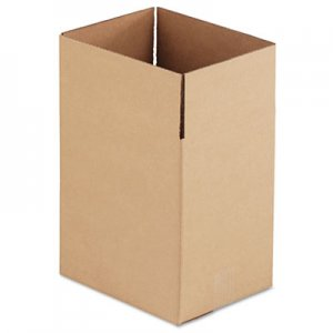 Genpak Brown Corrugated - Fixed-Depth Shipping Boxes, 11 1/4l x 8 3/4w x 12h, 25/Bundle UFS11812
