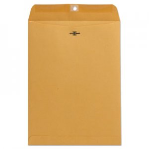 Genpak Kraft Clasp Envelope, Center Seam, 32lb, 9 x 12, Brown Kraft, 100/Box UNV41907