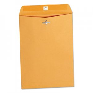 Genpak Kraft Clasp Envelope, #75, Cheese Blade Flap, Clasp/Gummed Closure, 7.5 x 10.5, Brown Kraft, 100/Box