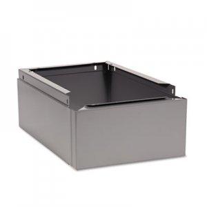 Tennsco Optional Locker Base, 12w x 18d x 6h, Medium Gray TNNCLB1218MG CLB-1218MG