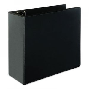 "Genpak Slant-Ring Economy View Binder, 5"" Capacity, Black UNV20998"