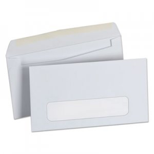 Genpak Business Envelope, #6 3/4, Cheese Blade Flap, Gummed Closure, 3.63 x 6.5, White, 500/Box UNV35216