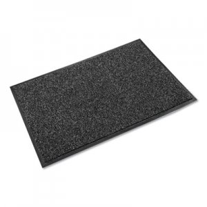 Crown Cross-Over Indoor/Outdoor Wiper/Scraper Mat, Olefin/Poly, 48 x 72, Gray CWNCS0046GY CS 0046GY