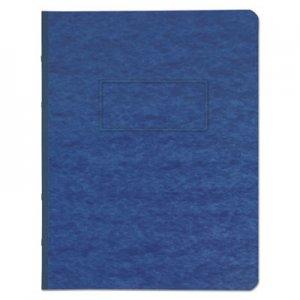"Genpak Pressboard Report Cover, Prong Clip, Letter, 3"" Capacity, Dark Blue UNV80573"