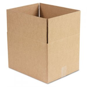 Genpak Brown Corrugated - Fixed-Depth Shipping Boxes, 15l x 12w x 10h, 25/Bundle UFS151210
