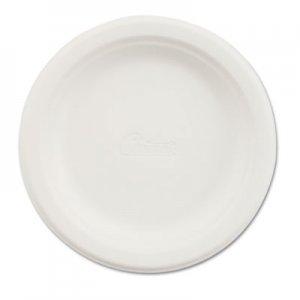 """Chinet Paper Dinnerware, Plate, 6"""" dia, White, 1000/Carton HUH21225 21225"""