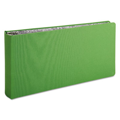 "Oxford Green Canvas Legal Ring Binder, 2"" Cap, 14 x 8 1/2, Green OXFS25572 S2557-2"