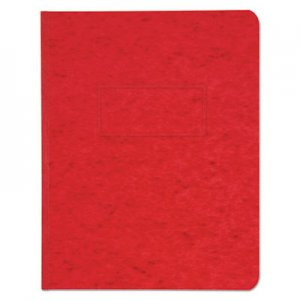 "Genpak Pressboard Report Cover, Prong Clip, Letter, 3"" Capacity, Executive Red UNV80579"