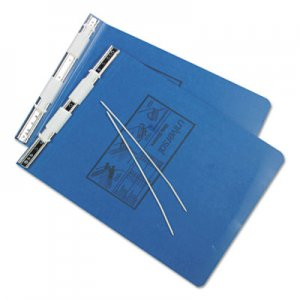 Genpak Pressboard Hanging Data Binder, 9-1/2 x 11, Unburst Sheets, Blue UNV15432 A7011723A