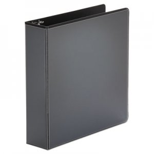"Genpak Economy Round Ring View Binder, 2"" Capacity, Black UNV20981"