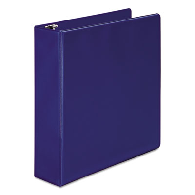 "Wilson Jones 368 Basic Round Ring Binder, 3 Rings, 2"" Capacity, 11 x 8.5, Dark Blue WLJ36844NBL W368-44NBLPP1"