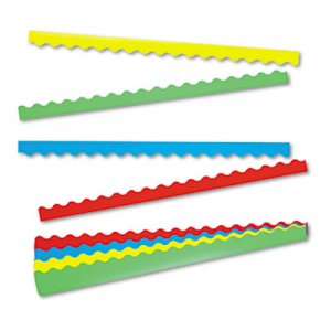 TREND Terrific Trimmers Border Variety Pack, 2 1/4 x 39, Assorted Colors, 48/Set TEPT9001 T9001