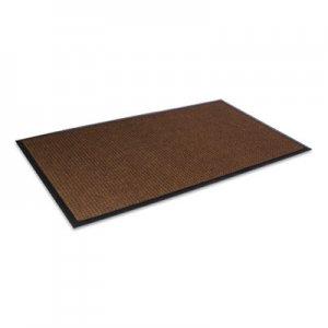 Crown Super-Soaker Wiper Mat with Gripper Bottom, Polypropylene, 36 x 120, Dark Brown CWNSSR310DB SS R310DB