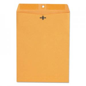 Genpak Kraft Clasp Envelope, Center Seam, 28lb, 9 x 12, Brown Kraft, 100/Box UNV35264