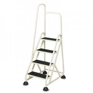 "Cramer Stop-Step Ladder, 66.25"" Working Height, 300 lbs Capacity, 4 Step, Beige CRA1041L19 1041L19"