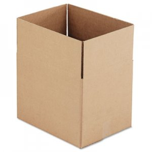 Genpak Brown Corrugated - Fixed-Depth Shipping Boxes, 16l x 12w x 12h, 25/Bundle UFS161212