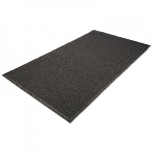 Guardian EcoGuard Indoor/Outdoor Wiper Mat, Rubber, 24 x 36, Charcoal MLLEG020304 EG020304