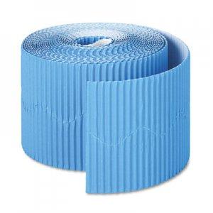 """Pacon Bordette Decorative Border, 2 1/4"""" x 50' Roll, Brite Blue PAC37176 37176"""