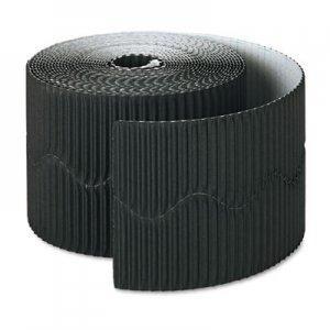 "Pacon Bordette Decorative Border, 2 1/4"" x 50' Roll, Black PAC37306 37306"