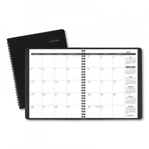At-A-Glance Monthly Planner, 6 7/8 x 8 3/4, Black, 2019-2020 AAG7012705 70-127-05