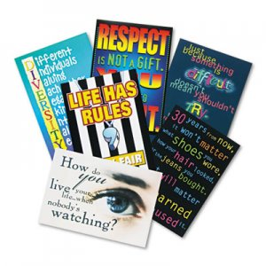 """TREND """"Building Character"""" ARGUS Poster Combo Pack, 13 3/8 x 9, 6/Pack TEPTA6682 TA6682"""