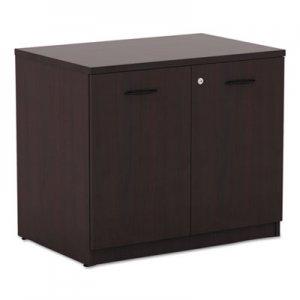 Alera Valencia Series Storage Cabinet, 34w x 22 3/4d x 29 1/2h, Mahogany ALEVA613622MY
