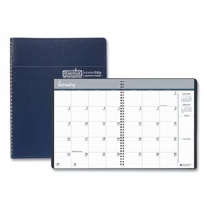 House of Doolittle Recycled Ruled Monthly Planner, 14-Month Dec.-Jan., 8 1/2 x 11, Blue, 2019-2021 HOD26207
