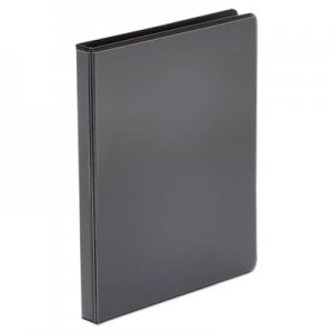 "Genpak Economy Round Ring View Binder, 3 Rings, 0.5"" Capacity, 11 x 8.5, Black UNV20951"
