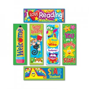 TREND Bookmark Combo Packs, Reading Fun Variety Pack #2, 2w x 6h, 216/Pack TEPT12907 T12907
