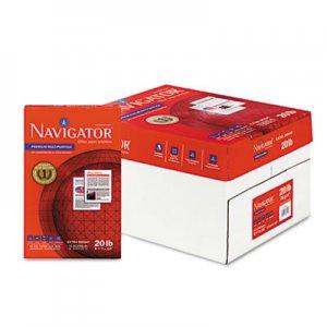 Navigator Premium Multipurpose Paper, 97 Brightness, 20lb, 8-1/2x14, White, 5000/Carton SNANMP1420 NMP1420