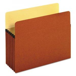 "Genpak Redrope Expanding File Pockets, 5.25"" Expansion, Letter Size, Redrope, 10/Box UNV15262 UNV15262T"