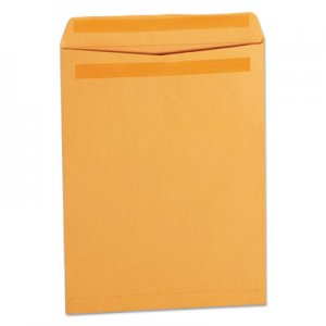 Genpak Self Stick File Style Envelope, 12 1/2 x 9 1/2, Brown, 250/Box UNV35291