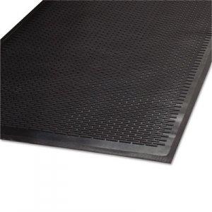 Guardian Clean Step Outdoor Rubber Scraper Mat, Polypropylene, 36 x 60, Black MLL14030500 14030500