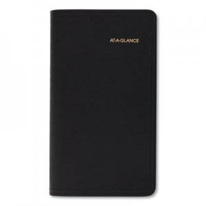 At-A-Glance Compact Weekly Appointment Book, 3 1/4 x 6 1/4, Black, 2020 AAG7000805 70-008-05