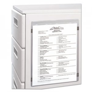 C-Line Magnetic Shop Ticket Holder, Super Heavy, 15 Sheets, 8 1/2 x 11, 15/BX CLI83911 83911