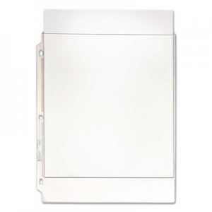Oxford Top-Load Poly/Vinyl Three-Hole Sheet Protectors, Heavy Wt, Letter, 50/Box OXF01185 01185
