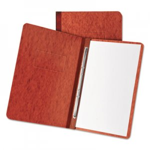 """Oxford Pressboard Report Cover, 2 Prong Fastener, Letter, 3"""" Capacity, Red OXF12934 12934"""